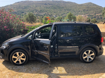 Group D Auto: VW Cross Touran Automatic Petrol